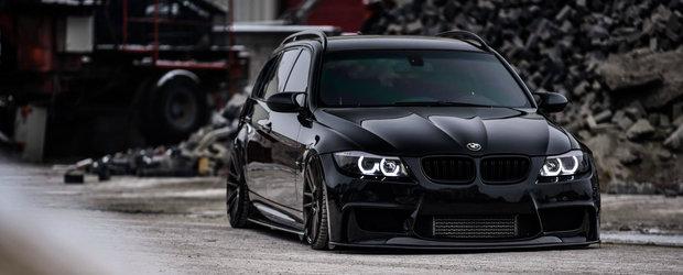 Nimic nu-i sta in cale acestui BMW E91. Masina bavareza ascunde 870 CP sub capota