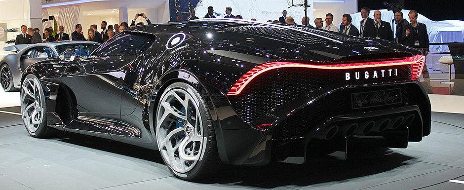 Nimic nu se compara cu LA VOITURE NOIRE. Noul unicat Bugatti este cea mai scumpa masina noua din istorie