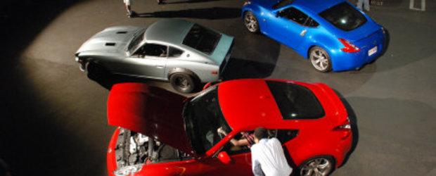 Nissan 370Z dezvaluit in Los Angeles