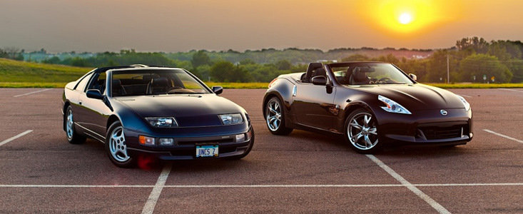 Nissan 370Z versus Nissan 300ZX - Trecutul intalneste Viitorul