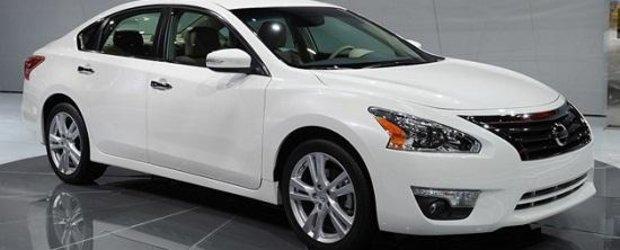 Nissan a amanat dezvoltarea Altima pentru a se inspira de la Hyundai