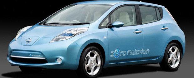 Nissan a lansat in Japonia noua varianta a modelului Leaf