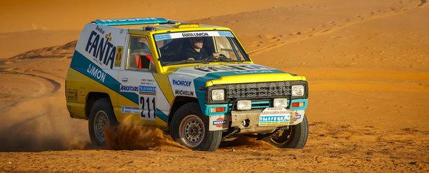 Nissan a readus la viata un Patrol legendar si l-a dus unde ii este locul: in desert