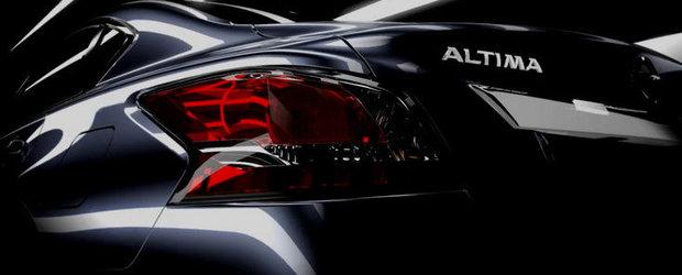 Nissan Altima - Al treilea teaser oficial