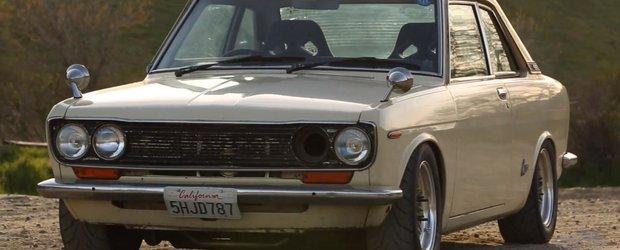 Nissan Bluebird este chintesenta frumusetii curentului JDM