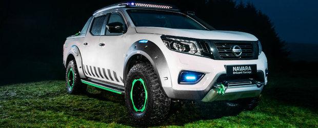 Nissan creeaza masina de interventii perfecta. Se numeste Navara EnGuard si vine cu drona inclusa