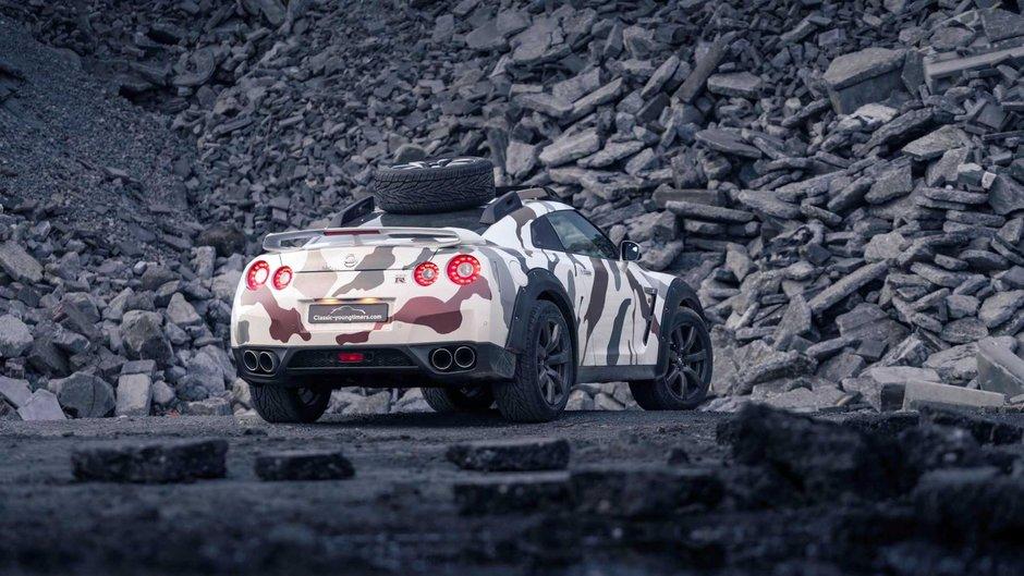 Nissan GT-R de off-road