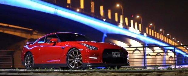 Nissan GT-R: frumusete rosie in Dubai