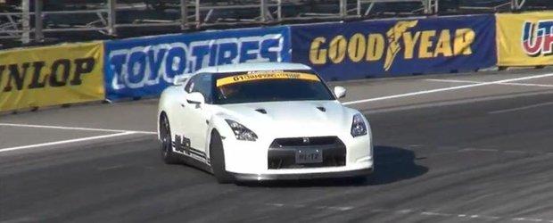 Nissan GT-T transformat in masina de drift RWD