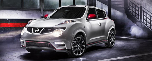 Nissan Juke Nismo - primele imagini oficiale