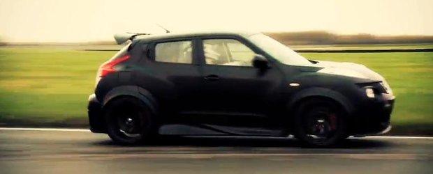 Nissan Juke-R in actiune - teste pe pista cu Supercrossover-ul japonez!
