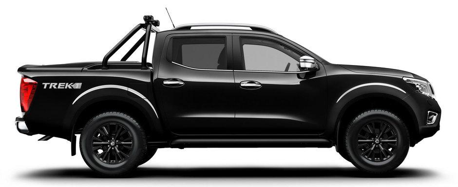 Nissan lanseaza o versiune speciala Navara cu nume ciudat: Trek-1°