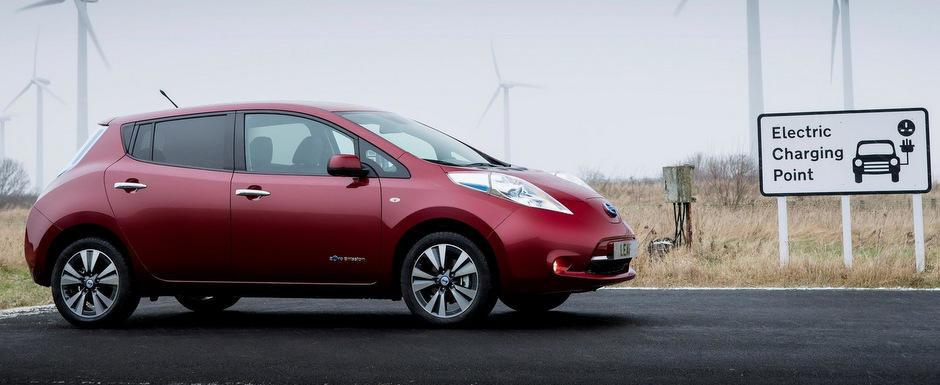 Nissan Leaf ajunge din iunie in Europa