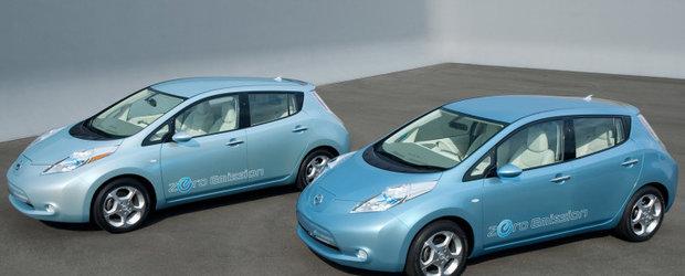 Nissan Leaf castiga lupta vanzarilor impotriva lui Chevrolet Volt