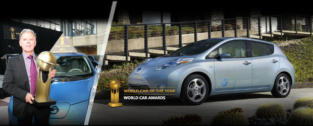 Nissan Leaf castiga titlul World Car of the Year 2011. Cum comentezi?