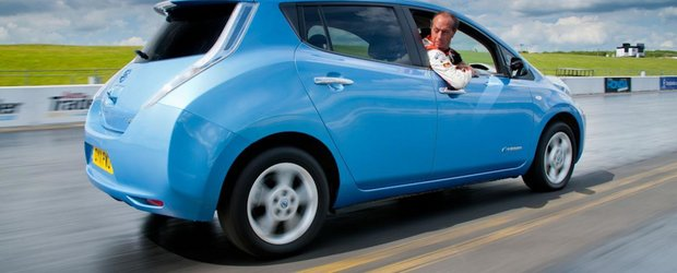 Nissan Leaf revine la Goodwood