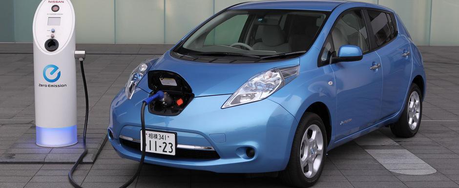 Nissan Leaf va fi echipat cu baterii noi, mai rezistente la caldura