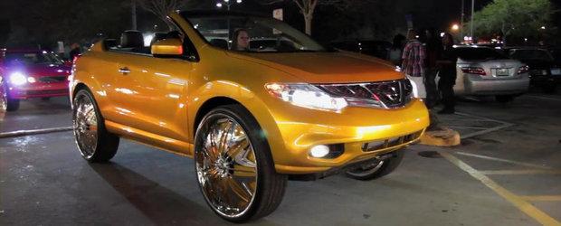 Nissan Murano Cabrio cu jante pe 30 de inci - Definitia kitsch-ului suprem