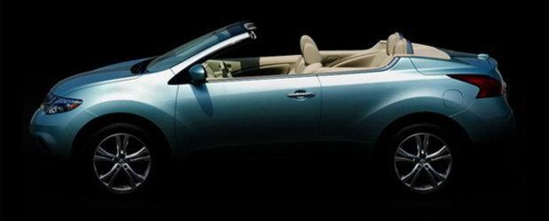 Nissan Murano CrossCabriolet, primul crossover convertible din lume!
