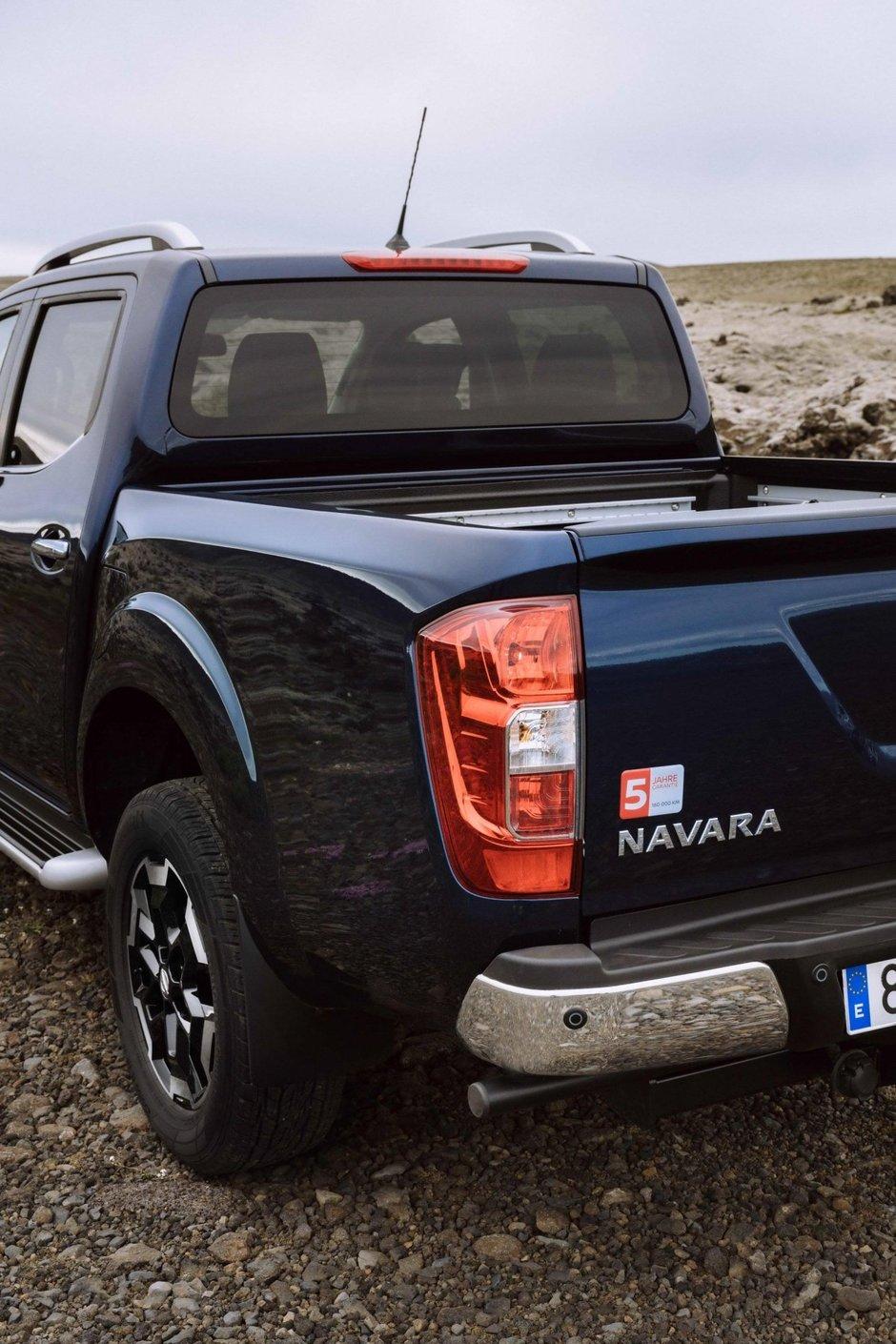 Nissan Navara facelift