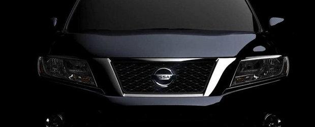 Nissan Pathfinder Concept, dezvaluit in primul video oficial