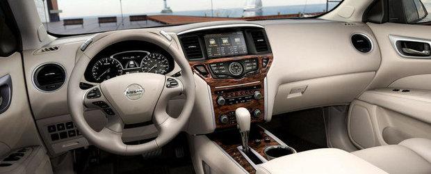 Nissan Pathfinder Concept - Primele cadre cu interiorul