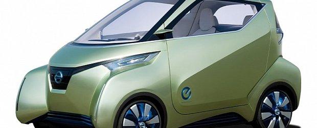 Nissan Pivo 3, dezvaluit la Tokyo Motor Show