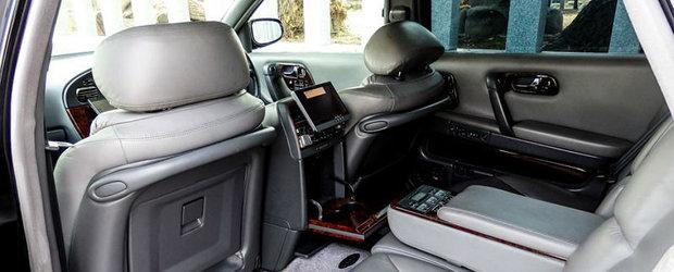 Nissan President e limuzina care, pentru pretul unei Dacii noi, te face sa te simti ca un presedinte de stat