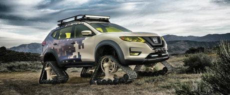 Nissan prezinta Rogue Trail Warrior, un crossover cu senile care poate rula oriunde