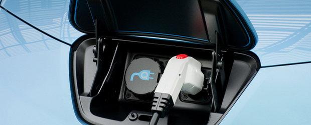 Nissan si GE au semnat un acord referitor la infrastructura masinilor electrice