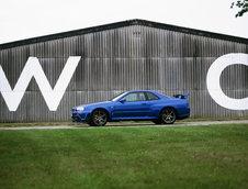 Nissan Skyline R34, R33 si R32
