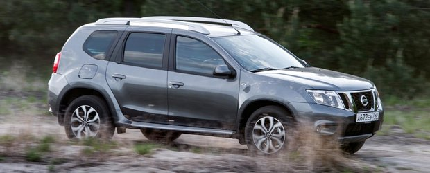 Nissan Terrano 3 se vinde in Rusia: este un Duster cu alta fata