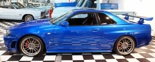 Nissan-ul GT-R R34 din Fast and Furious 4 este DE VANZARE. AFLA CAT COSTA!