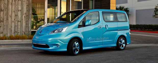 Nissan va produce in Spania vehiculul electric e-NV200