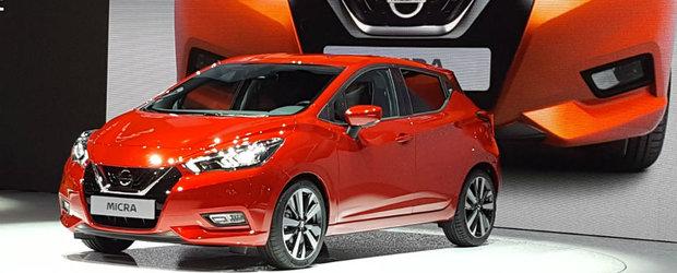 Nissan vrea sa domine segmentul B cu noul Micra. Modelul a debutat la Salonul Auto de la Paris