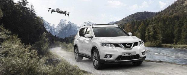 Nissan X-Trail primeste o noua editie speciala si...o drona autonoma