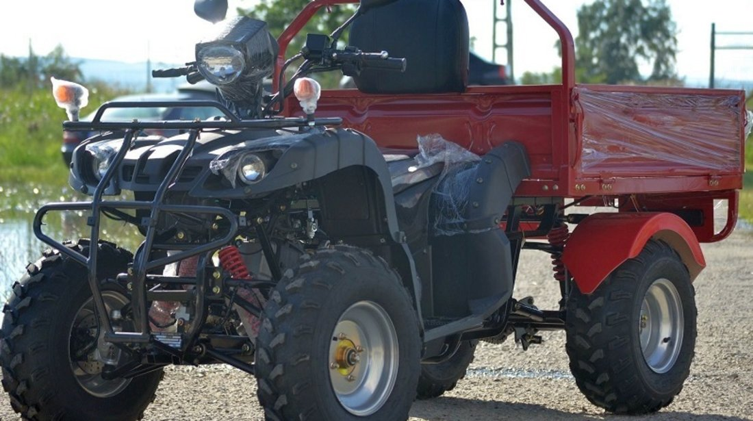 Nitro 200cc ATV basculantă automat + RG cu încărcare