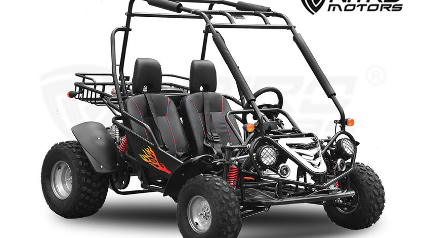 NITRO 200cc Buggy – 2 Persoane