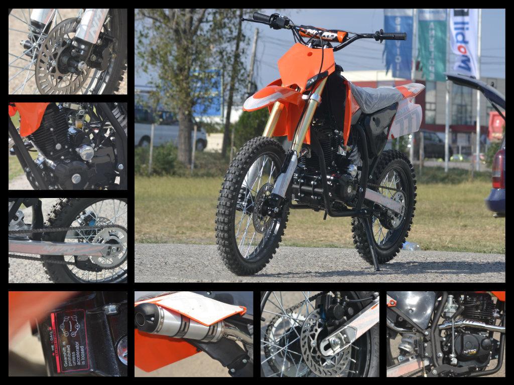 NITRO Dirtbike Hurricane 250cc Import Germania