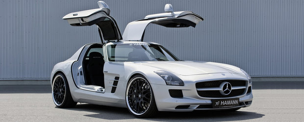 No more Bimmers: Hamann modifica noul Mercedes SLS AMG