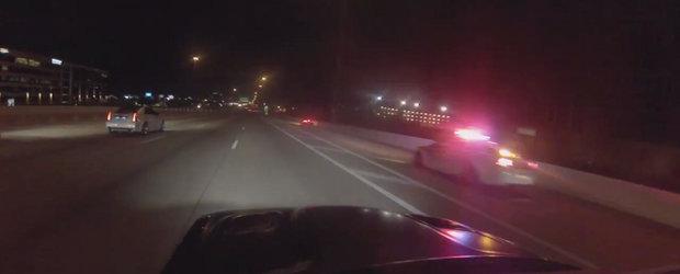 Noaptea dedicata curselor ilegale se incheie cu interventia politiei