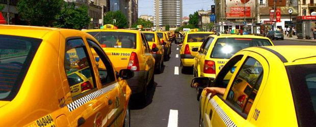 Noi actiuni de protest ale taximetristilor