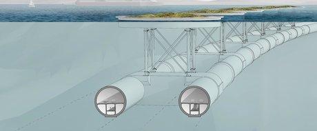 Noi cu carpeala, ei cu SF-ul: Norvegia va avea tuneluri subacvatice suspendate pentru masini