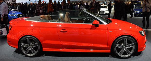 Noi detalii despre Audi A3 Cabriolet. Iata de la ce pret porneste acesta
