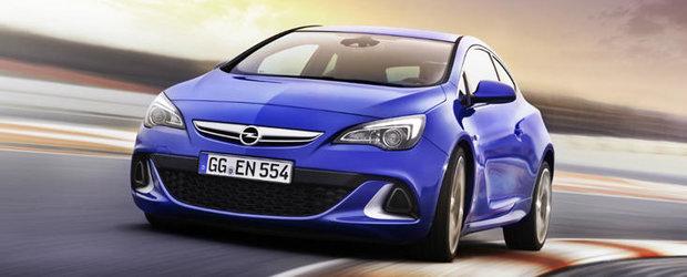 Noi detalii despre Opel Astra OPC