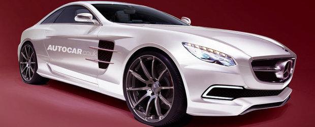 Noi detalii picante despre viitorul Mercedes SLC AMG