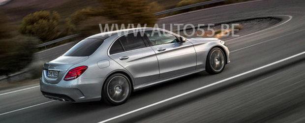 Noi fotografii oficiale cu viitorul Mercedes C-Class