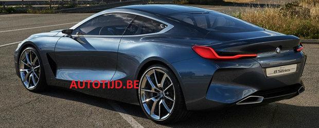 Noi imagini cu BMW Seria 8. Cum arata masina bavareza din spate