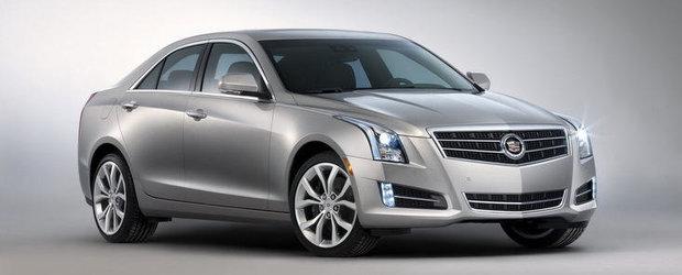 Noi imagini cu Cadillac ATS