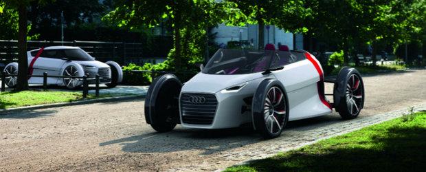 Noi imagini cu conceptele Audi Urban si Urban Spyder